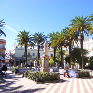 Het plein van Ayamonte