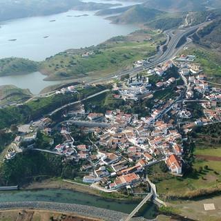 Het dorpje Odeleite