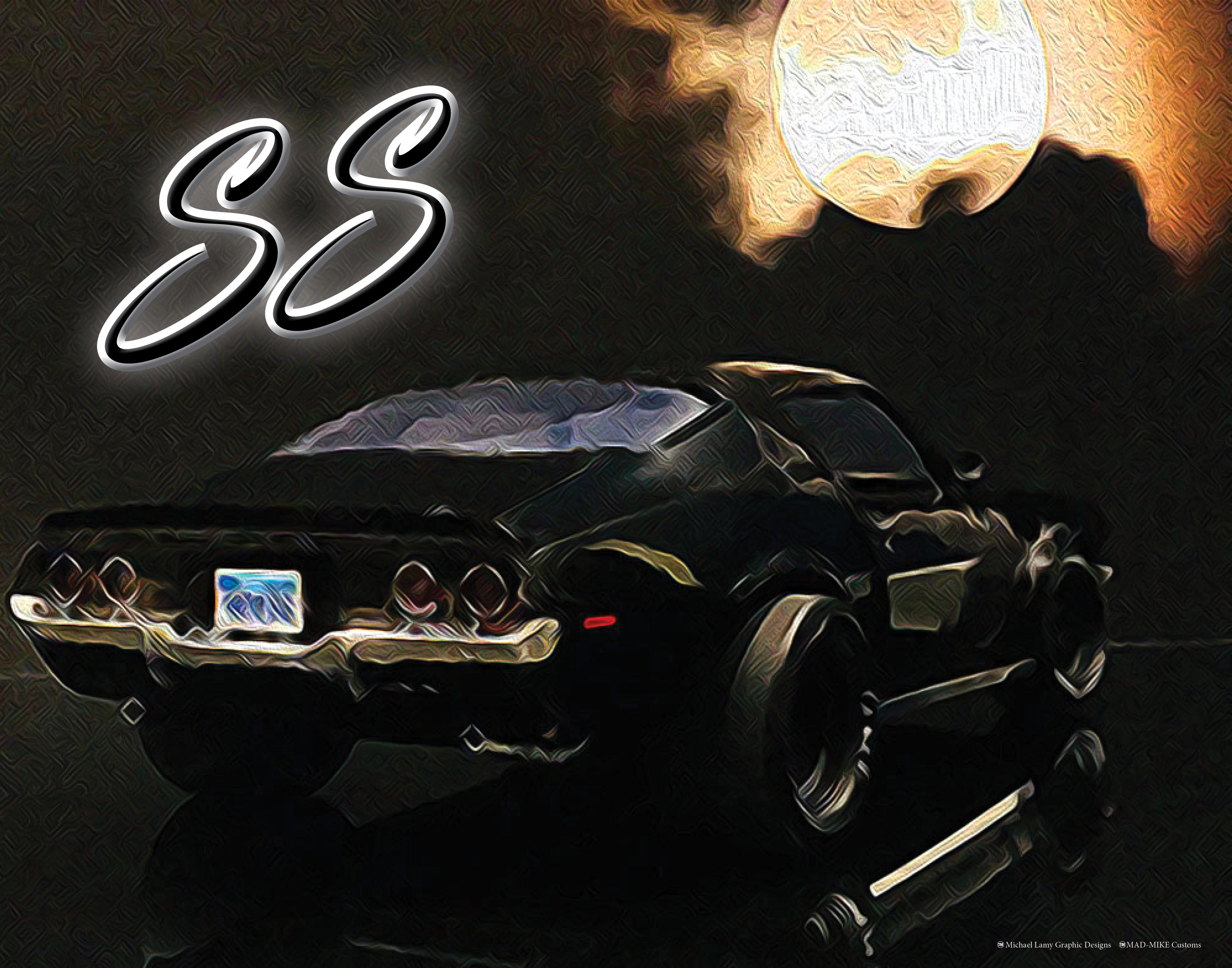 blackcamaropaintingArt11x14 copy