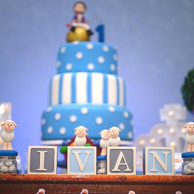 Aniversário do Ivan, 1 aninho