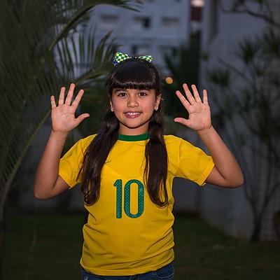 Aniversário da Isabela, 10 anos
