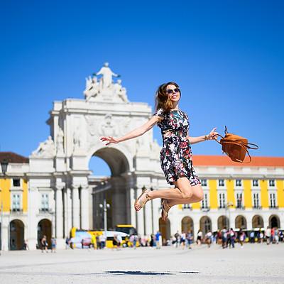 Um passeio em Lisboa