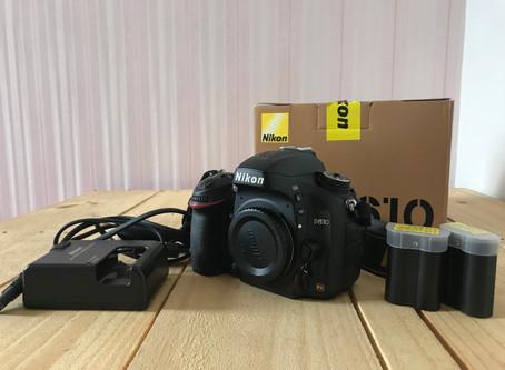 Vendo câmera Nikon D610