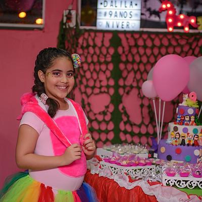 Aniversário da Dalila, 9 anos
