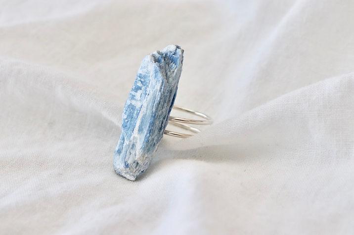 Boho Kyanite Ring