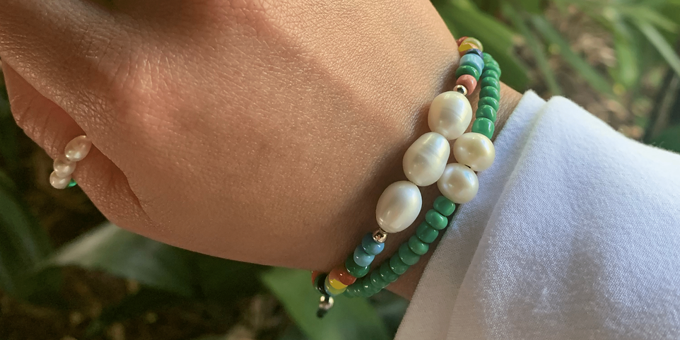 Boho Chic Pearl Bracelets