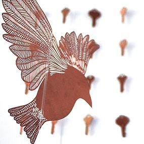 hand-cut bird 1