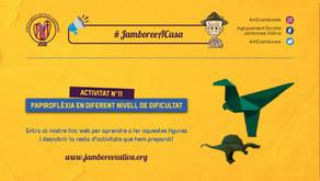 #JamboreeACasa Nº11: Papiroflèxia en diferent nivell de dificultat!