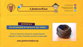 #JamboreeACasa Nº4: Fes un Passador de Panyoleta: Nuc Gilwell!