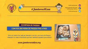 Acampada de Pasqua: Com fer una Mona de Pasqua pas a pas! #JamboreeACasa
