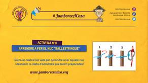 #JamboreeACasa Nº8: Aprendre a fer el Nuc Ballestrinque!