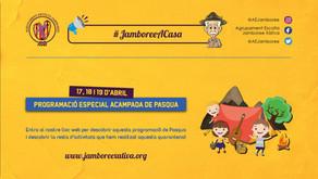 #JamboreeACasa: Programació Especial Acampada de Pasqua 2020! ⬇️
