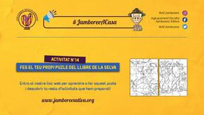 #JamboreeACasa Nº14: Fes el teu propi Puzle del Llibre de la Selva!