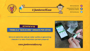 """#JamboreeACasa Nº18: Troba els """"Geocaching"""" amagats per Xàtiva!"""