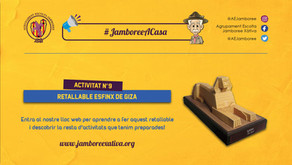 #JamboreeACasa Nº9: Retallable de la Gran Esfinx de Giza!