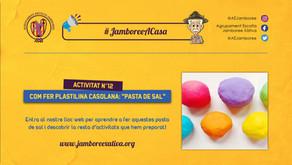 #JamboreeACasa Nº12: Com fer Plastilina Casolana - Pasta de Sal!