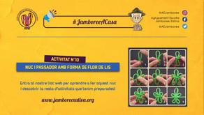 #JamboreeACasa Nº10: Nuc i Passador amb forma de Flor de Lis!