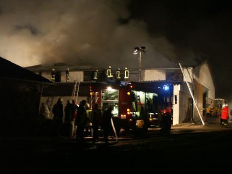 Großbrand Dreckenach