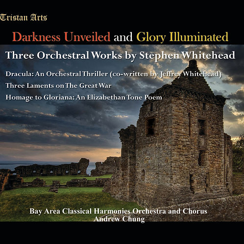 "3 Orchestral Works By Stephen Whitehead including ""Dracula"" (CD)"