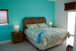 Turquoise 2nd floor bedroom