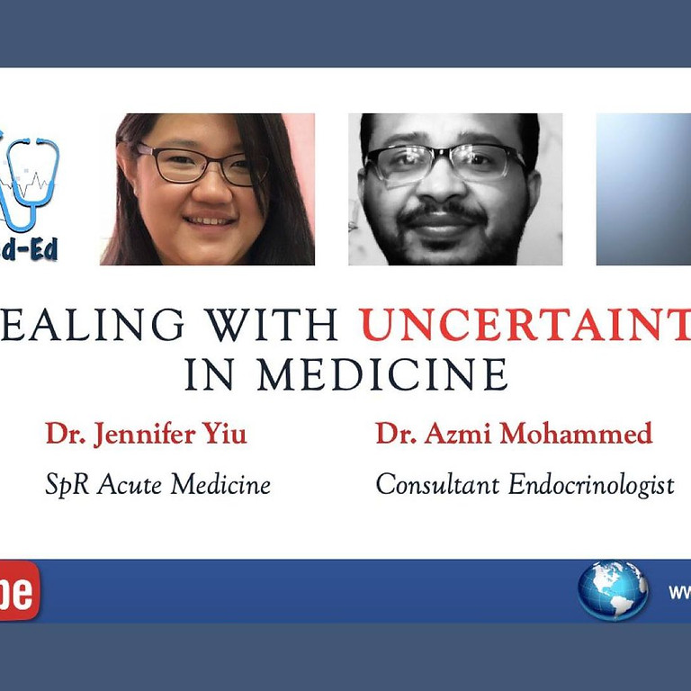 Dealing with uncertainty in medicine
