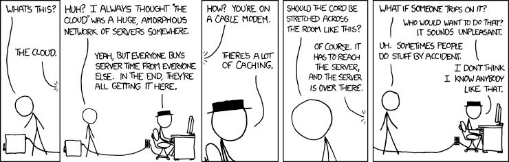 XKCD The Cloud 908