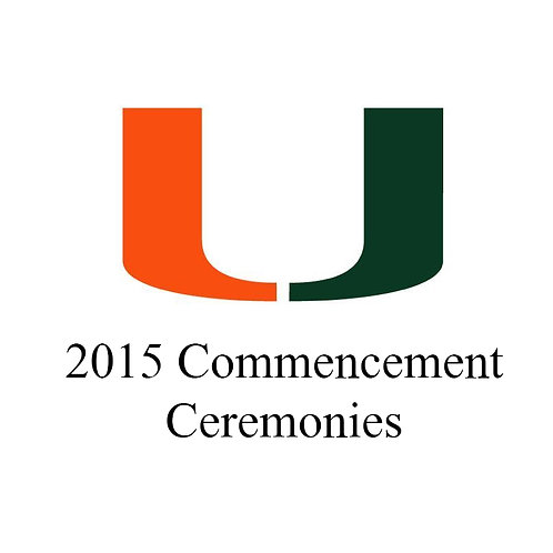 U of M Fall 2015 Commencement (Digital)