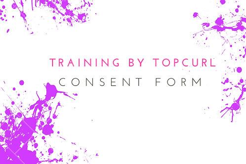 Lash Extension Consent Form