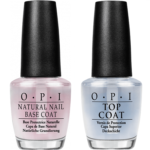 OPI Natural Nail Base Coat & Top Coat