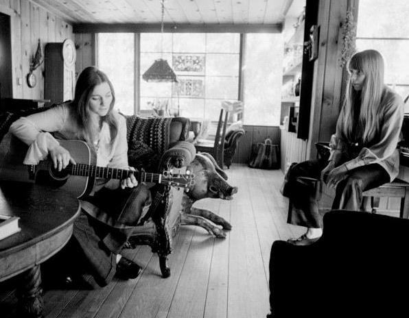 Joni and Judy Collins