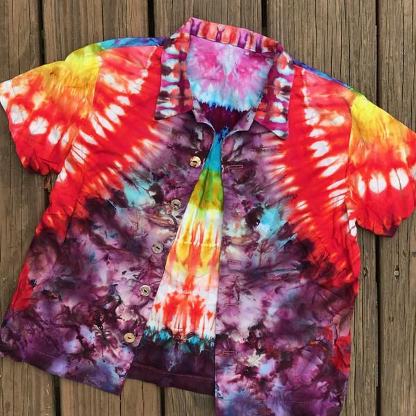 Aloha Shirt for a Unicorn