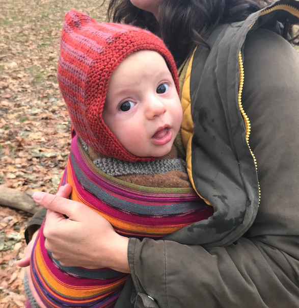Pointy baby hat
