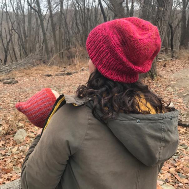 Winter Sunset hats