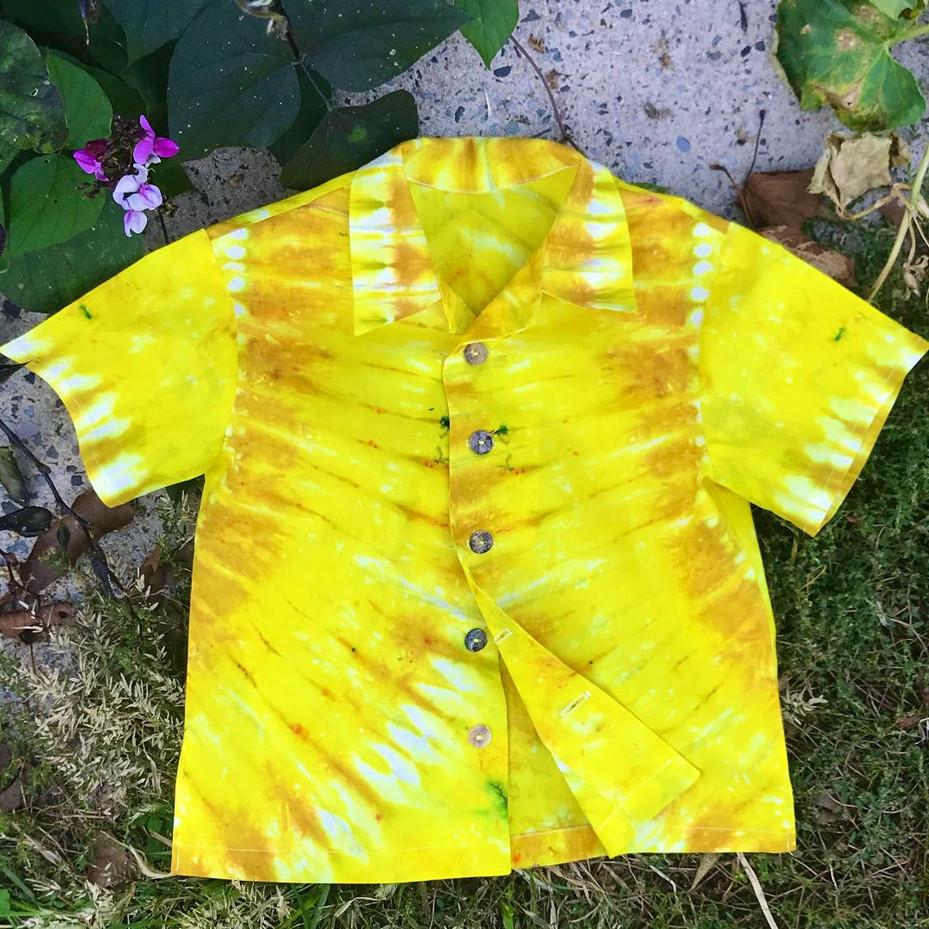 Aloha Shirt for a Sunbeam