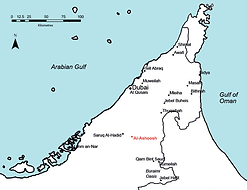 Map-of-the-Emirate-of-Dubai-UAE-with-arc