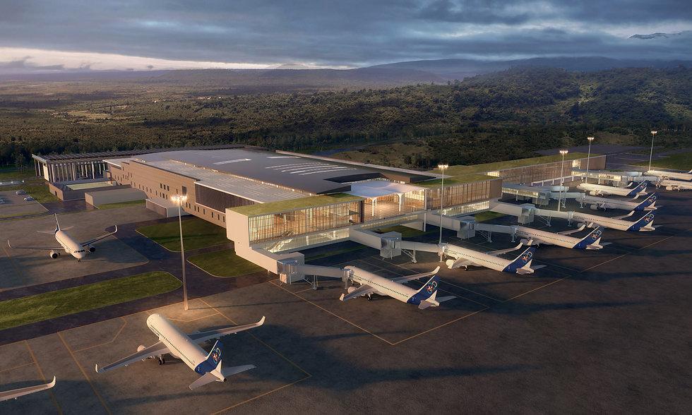 KOS Airport, Sihanouk, Cambodia