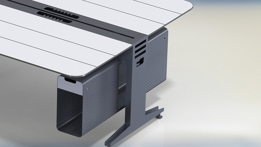 Office Furniture Line - Unity Float Desk