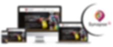 Magnifique site internet CMS créé et inventé pour Synapse 3i, association à Amiens