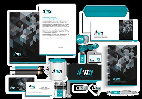 Charte graphique (logo, brochure, etc.) marketing complète pour association ou entreprise