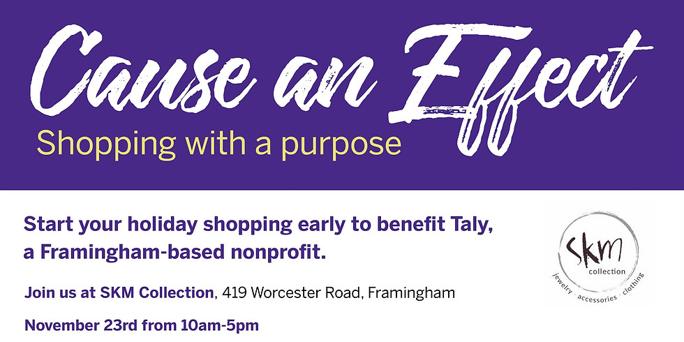 Shopping with a Purpose
