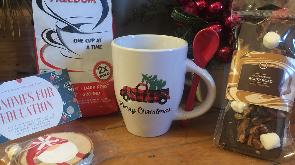 Christmas Coffee to go-shipped option