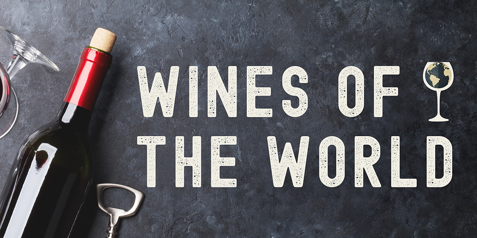 Wines of the World – A Charity Wine Tasting Event