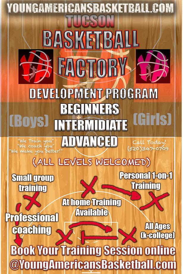 YA basketball official training Advertis