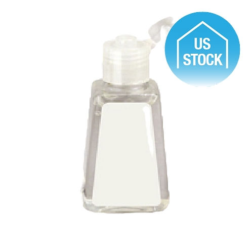 Hand Sanitizer with Alcohol, 1 oz. - Blank