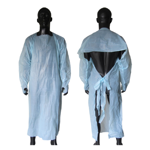 Disposable Gown with Open Back