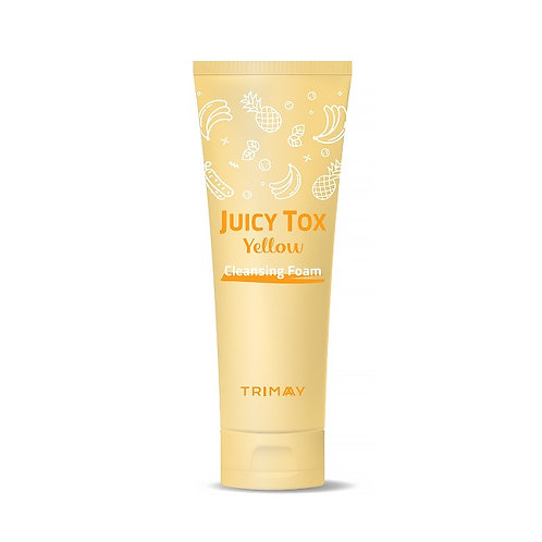 Очищающая пенка на основе желтого комплекса Juicy Tox Yellow Cleansing Foam
