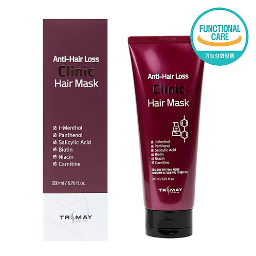 Безсульфатная питательная маска против выпадения волос