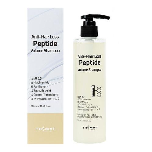 Безсульфатный слабокислотный шампунь с пептидами против выпадения волос
