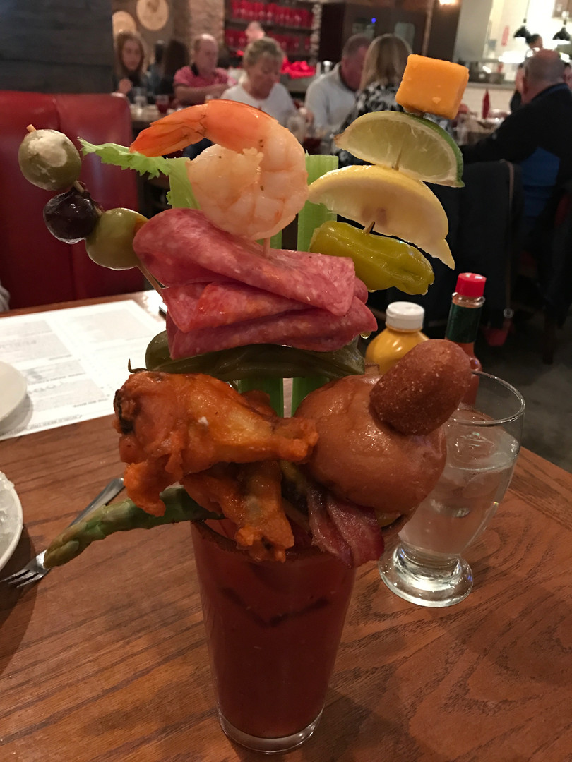 A very large Bloody Mary