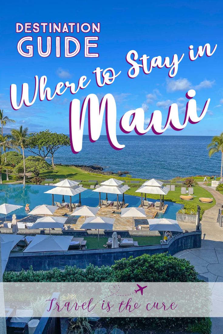 Part of the Travel is the Cure Maui Destination Guide, here is a list of recommendations for places to stay in Maui